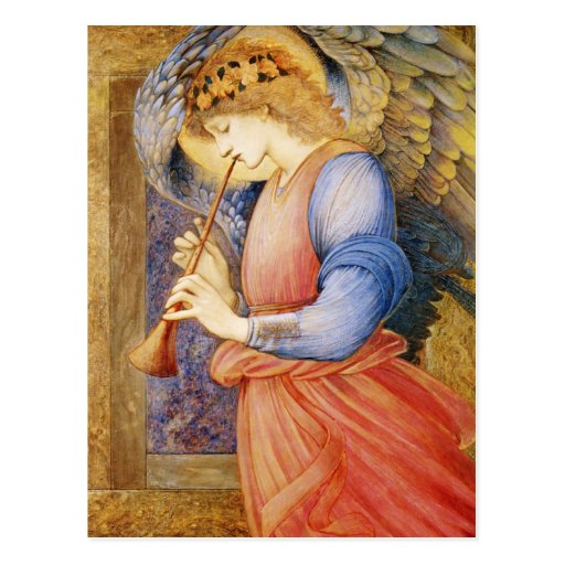 Burne-Jones CC0422 Favorite Angel Postcard