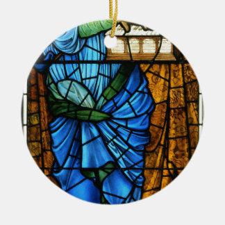 Burne-Jones,_Sir_Edward,_Saint_Cecilia,_ca._1900 Ceramic Ornament