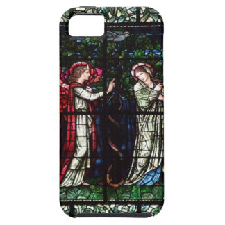Burne-Jones stained glass window iPhone 5 Covers