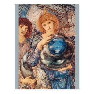 Burne-Jones The second day of creation CC0777 Postcard