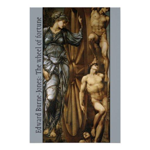 Burne-Jones Wheel of Fortune CC0427 Poster