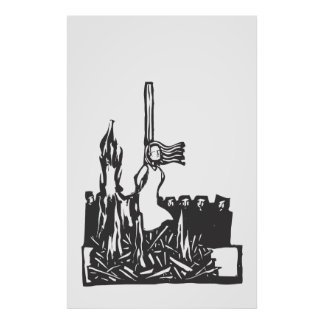 Burned at the Stake Print