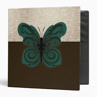 "Burned Butterfly 1.5"" Binder"
