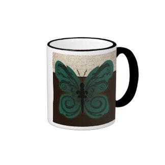 Burned Butterfly Mug