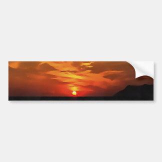 Burned Horizons Bumper Sticker