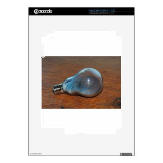 Burned Out Bulb iPad 2 Decal