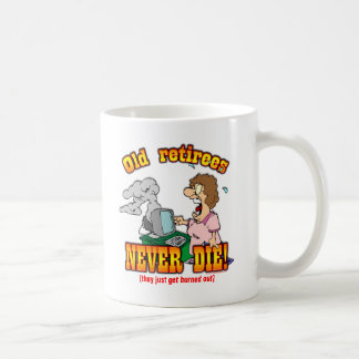 Burned Out Classic White Coffee Mug