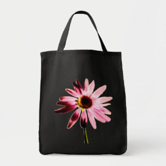 Burned Out Pink Coneflower Tote Bag