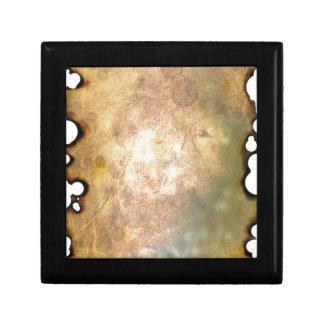 Burned Parchment II Jewelry Box
