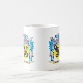 Burness Coat of Arms Classic White Coffee Mug
