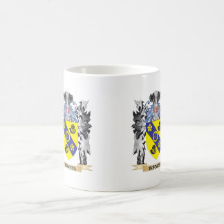 Burness Coat of Arms - Family Crest Classic White Coffee Mug