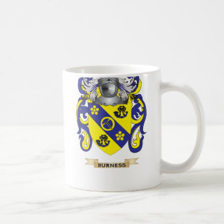 Burness Coat of Arms (Family Crest) Classic White Coffee Mug