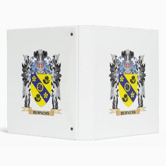 Burness Coat of Arms - Family Crest Vinyl Binder