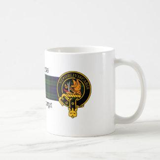 Burness Scottish Crest and Tartan mug
