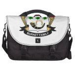 Burnet Family Crest Commuter Bag