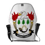 Burnet Family Crest Courier Bags
