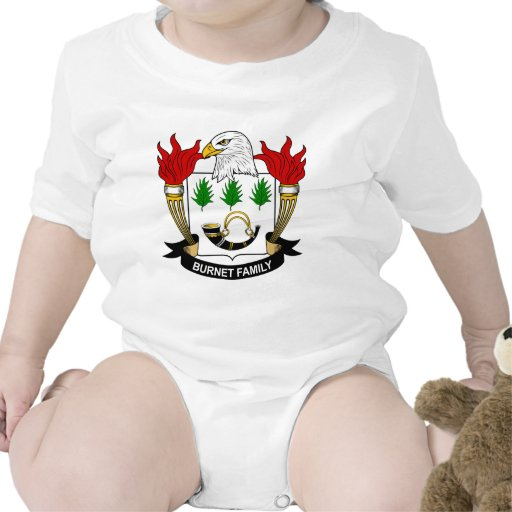Burnet Family Crest Tee Shirts