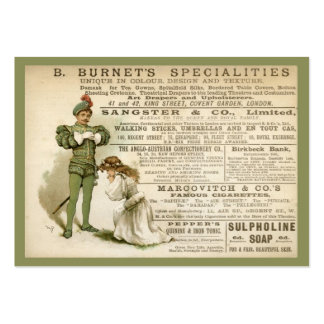 Burnet's Specialities Gift Tag Large Business Card