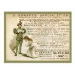 Burnet's Specialities Postcard