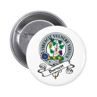 Burnett Clan Badge 2 Inch Round Button