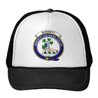 Burnett Clan Badge Hats