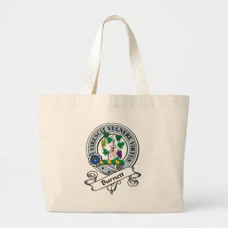 Burnett Clan Badge Large Tote Bag