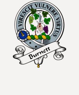 Burnett Clan Badge Tshirt