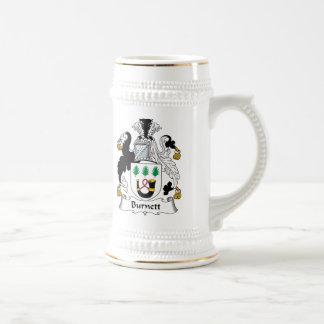 Burnett Family Crest Coffee Mug
