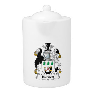 Burnett Family Crest Teapot