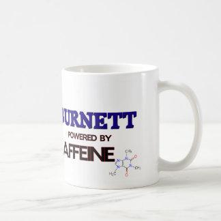 Burnett powered by caffeine mugs