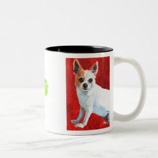 Burnett's Magpie Two-Tone Coffee Mug