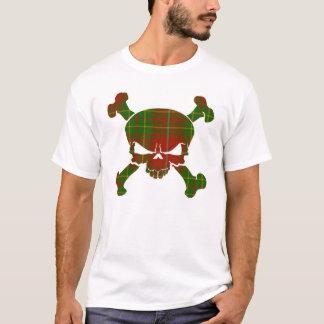 Burnett Tartan Skull No Banner T-Shirt