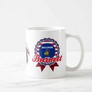 Burnett, WI Mug
