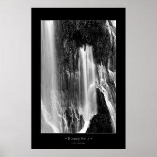 Burney Falls (BW) Posters