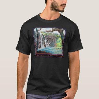 Burney Falls Watercolor T-Shirt