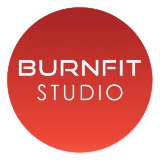 BurnFit Studio Sticker