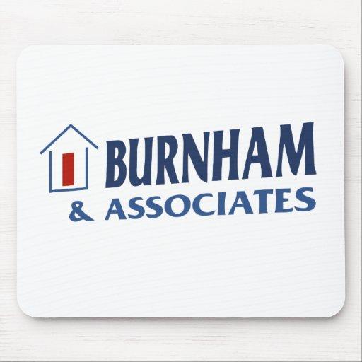Burnham & Associates Mouse Mat