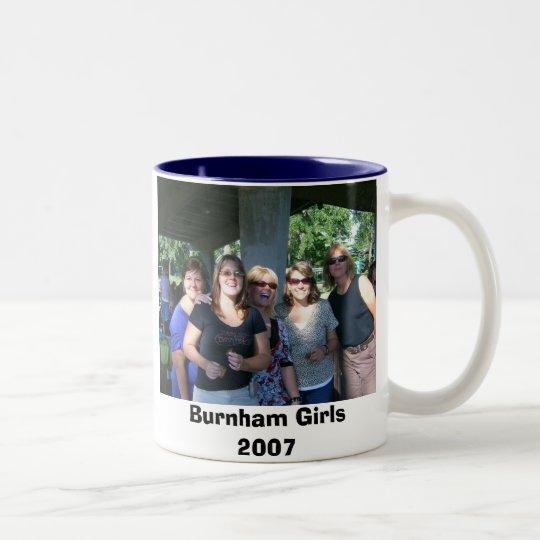 Burnham class of 1980 Two-Tone coffee mug
