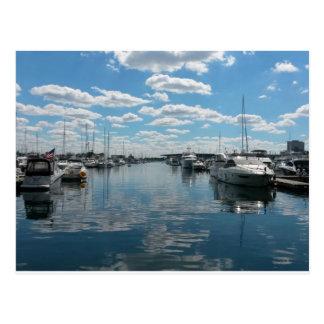Burnham Harbor - Chicago Postcard