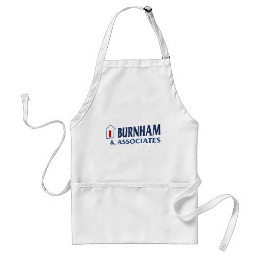 Burnham y socios delantal