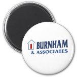 Burnham y socios imán para frigorifico