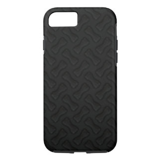 Burnin' Rubber New Tire Tread Black iPhone 7 Case