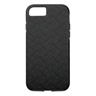 Burnin' Rubber New Tire Tread Black iPhone 7 Case