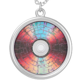 Burning A Disc Necklace