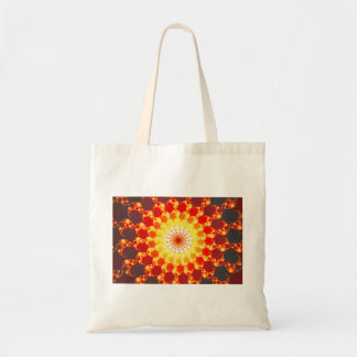 Burning Ambition - Fractal Tote Bags
