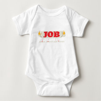 Burning at Both Ends Baby Bodysuit