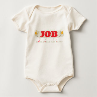 Burning at Both Ends Baby Bodysuits