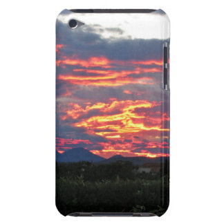 burning bosnian sky barely there iPod cover