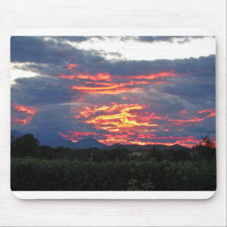burning bosnian sky msp mouse pad