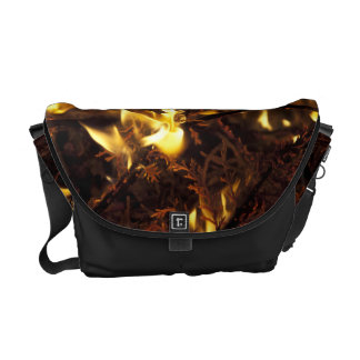 Burning Branches Courier Bag